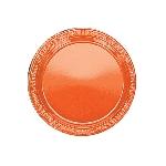 Plato Plast. 22.8Cm Naranja
