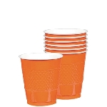 Vasos Orange Peel Plastic Cups 355Ml
