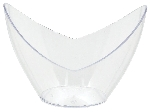 MINI PLS OVAL DISH - CLEAR