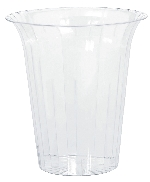 Bowl Plastic Large Flared Cylinders 19.3cm