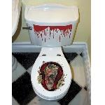 Decor. Toilet Halloween