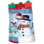 Bolsa Frosty Friends Jumbo Plastic Gift Sacks