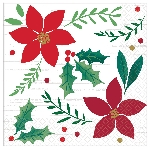 Servilletas pequeñas Christmas Wishes 25cm