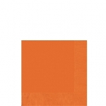 Serv/Peq 25X25 2-Ply Naranja