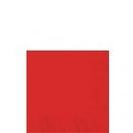 Servilletas de cóctel rojas-Cuadradas doble capa 25cm