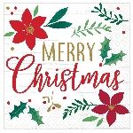 Servilletas medianas Christmas Wishes eon 33cm