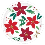 plato 18cm Christmas Wishes Paper Plates 18cm