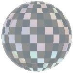 Plato 18cm pris Disco Ball Drop Iridescent Round Plates 18cm
