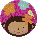 Platos 17.7cm:MONKEY LOVE