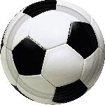 Platos Championship Soccer Plates 17.7cm