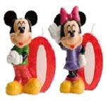 Velas Mickey and Minnie Nº0