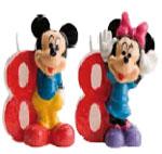 Velas Mickey and Minnie Nº8