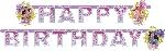 1 Guirnalda Letras Barbie y las 3 Mosqueteras (OFERTA)