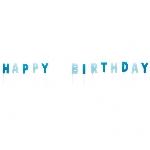 VELAS MINI BLUE HAPPY BIRTHDAY