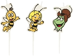 4 Vela mini figuras Maya the Bee