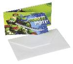TMNT 6 Card Invitación Oferta