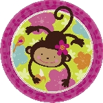Platos 22.8cm:MONKEY LOVE