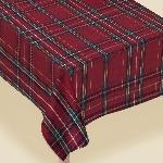 Mantel franela Plaid Printed Fabric 1.52m x 2.13m
