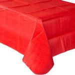 Mantel 137cm x 274cm Rojo de Papel * STOCK