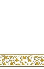 Mantel premium:Blanco con GOL