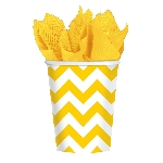 VASO 266ml: CHEVRON AMARILLO