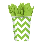 VASO 266ml: CHEVRON KIWI