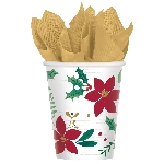 Vaso Christmas Wishes Paper Cups 266ml