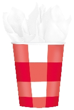 VASO 266ml:PICNIC PARTY PAPIER
