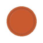 Pumpkin Spice Paper Plates 17Cm