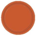 Pumpkin Spice Paper Plates 25Cm