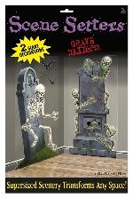 Decoración Pared:GRAVEYARD RAIDERS