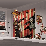 Creepy Carnival Scene Setter mega Value wall dec kit