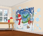 Decor.Pared Winter Friends Wall Kits