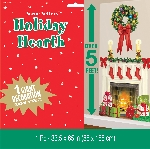 Decor.Pared Holiday Hearth Plastic Add