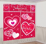 KIT DECOR PARED HAPPY VALENTINES