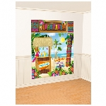 Decorado de pared Tiki Scene Setters Wall Decorating Kits