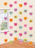 DECOR. COLG. ESPIRAL: CANDY HEARTS