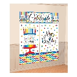 Decorado de pared Bright Birthday Wall Decoration Kits