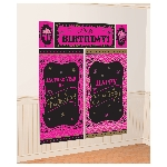 Decorado de pared Fabulous Birthday Wall Decoration Kits