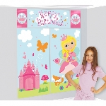 Decorado de pared Woodland Princess Scene Setters