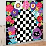Decorado de pared Mad Tea Party Wall Decoration Kit