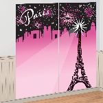 Decorado de pared A Day in Paris Wall Decoration Kit