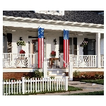 Bandera4th July Hanging Flag Decorations 34cm x 2.59m