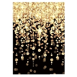 Decorado de pared Hollywood Cascading Lights Scene Setter Room Rolls 1.21m x 12.19m