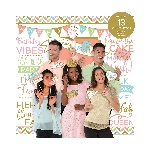 Photo Kit Confetti Fun Wall Decoration Kits with Props -