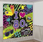 Decorado de pared Totally 80s Scene Setters 1.65cm x 82.5cm