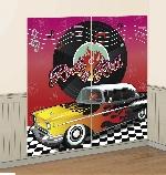 Decorado de pared 50s Classic Scene Setters 165cm x 82.5cm