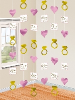 Decoracion Colgante Love Always & Forever String Decorations 2m