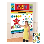Decorado de pared Rainbow Personalised Wall Decoration Kits