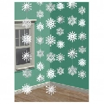 6 String Decorations Snowflake210 cm (STOCK)